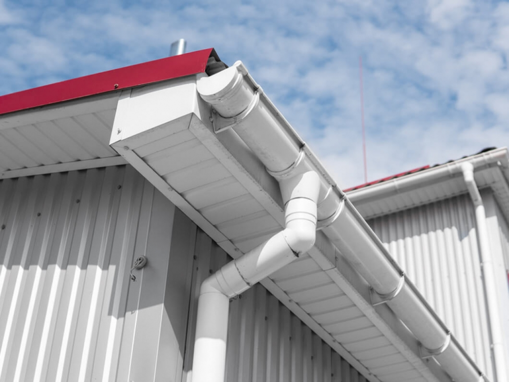 commercial gutter repair
