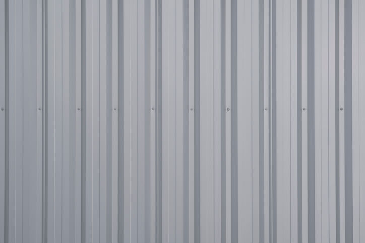 ribbed metal roofing